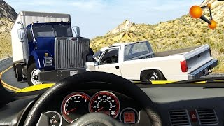 getlinkyoutube.com-BeamNG.Drive Dash Cam Accidents, Realistic Crashes Compilation #4 HD