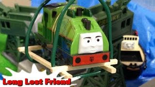 "getlinkyoutube.com-Thomas and friends ""Long Lost Friend"" トーマス プラレール ガチャガチャ きみはたいせつなともだち"