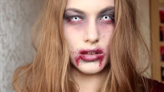 getlinkyoutube.com-Halloween zombie makeup tutorial