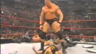 getlinkyoutube.com-Brock Lesnar Debut RAW 03/18/02