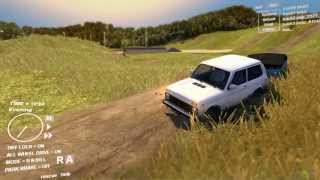 getlinkyoutube.com-Lada Niva VAZ-2121 Off Road SpinTires Freeride/Walkthrough/Gameplay HD 1080p