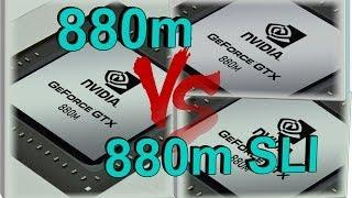 getlinkyoutube.com-GTX 880m SLI VS GTX 880m - Official benchmarks comparison in PC games