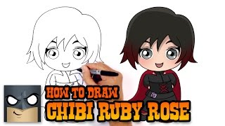 getlinkyoutube.com-How to Draw Ruby Rose (Chibi)- Drawing Tutorial Video