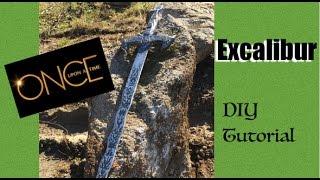 getlinkyoutube.com-How To Make Excalibur- ONCE UPON A TIME Excalibur DIY
