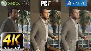 getlinkyoutube.com-GTA 5 Graphic Comparison | PC (4k) vs PS4 vs XBOX 360 Shootout