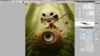 getlinkyoutube.com-Speed Painting: Create a Fantasy Storybook Illustration