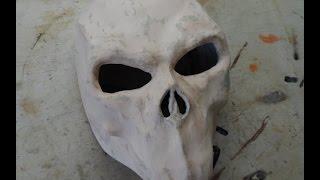 getlinkyoutube.com-Как сделать маску Смерти из Darksiders 2 из бумаги (2 часть)