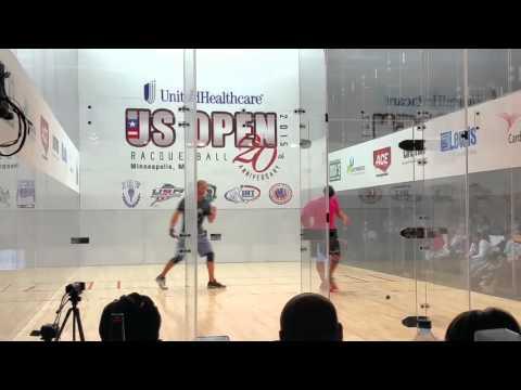 US OPEN 2015 Racquetball Pro singles Rocky Carson