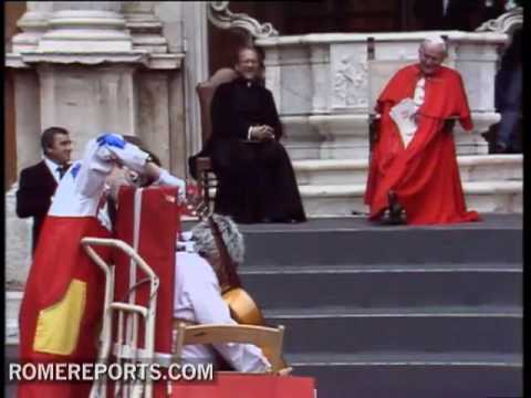 Pope John Paul II  The record breaking pope