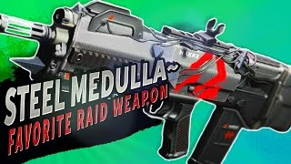 getlinkyoutube.com-MY FAVORITE RAID WEAPON!  Steel Medulla~ Pulse Rifle | Destiny (Rise of Iron)