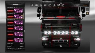 getlinkyoutube.com-DAF XF Tuning Mod ETS2 (Euro Truck Simulator 2)