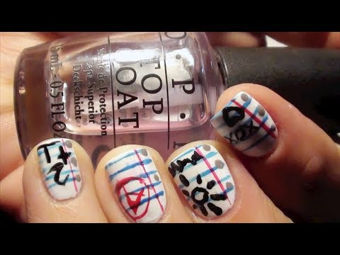 NOTEBOOK  PAPER NAILS
