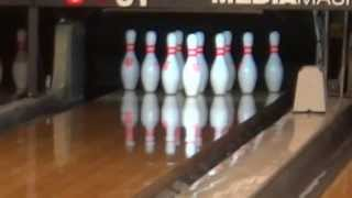 getlinkyoutube.com-Me Bowling at Sam's Town 1/4/14 Part 1/3: Starting with a Spare and a Strike.