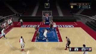 getlinkyoutube.com-NBA 2k16 3 Out Extended Freelance Offense Introduction