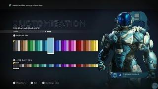 getlinkyoutube.com-Halo 5 Guardians Multiplayer Customization and Spartan Rank Packs opening!