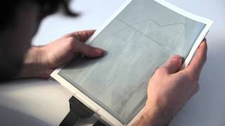 getlinkyoutube.com-PaperTab: Revolutionary paper tablet reveals future tablets to be thin and flexible as paper.