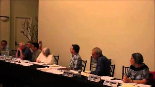 At the September 2014 LJCPA meeting Trustee Costell explains the LJCPA President made plans to use the 2/3 rule rather than solicit new candidates for the LJCPA upcoming election