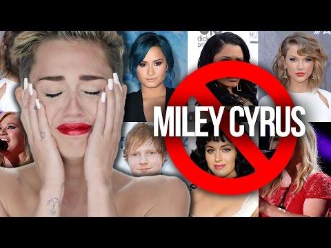 11 Famosos Que Han Insultado a Miley Cyrus