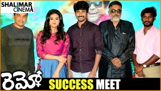 getlinkyoutube.com-Remo Movie Success Meet || Sivakarthikeyan, Keerthy Suresh, Anirudh, Dil Raju || Shalimarcinema