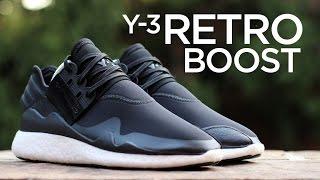 getlinkyoutube.com-Closer Look: Y-3 Retro Boost - Black