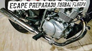 getlinkyoutube.com-MotoFilmador999 - CG150 Preparada, Testando Escape Torbal Preparado!