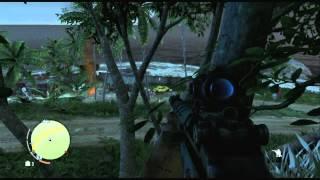 getlinkyoutube.com-Far Cry 3 - M-700 & MS16 Silenced Gameplay