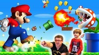 getlinkyoutube.com-Some Fun with New Super Mario Bros.U Part1