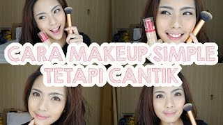 getlinkyoutube.com-Cara Makeup Simple tapi Cantik - GRWM | Trixie Wilona