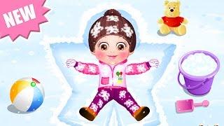 getlinkyoutube.com-Baby Hazel Game Movie - Baby Hazel Winter Care - Dora the Explorer