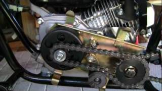 getlinkyoutube.com-Baja Warrior  Mini Bike Clutch To Torque Converter Conversion