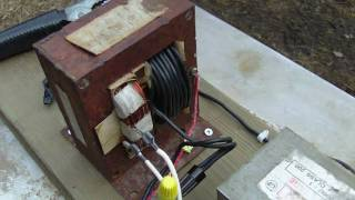 getlinkyoutube.com-Homemade Arc Welder 120v AC