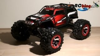 2013 Traxxas Summit unboxing (NL)