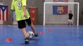 getlinkyoutube.com-Futsal Practice - Personal Soccer Trainer/Coach