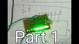 How to Make Battery Level indicator Use ic LM3914