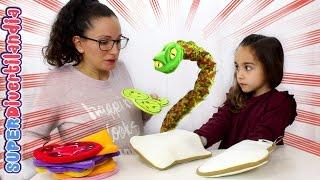 getlinkyoutube.com-Queremos Sandwich! Rejugando La joya de la serpiente!