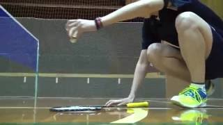 getlinkyoutube.com-床ギリギリのシャトルをうまく返球する方法を教えてください【シドニーオリンピック日本代表 井川里美】