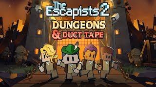 """The Escapists 2 - """"Dungeons & Duct Tape"""" Megjelenés Trailer"""