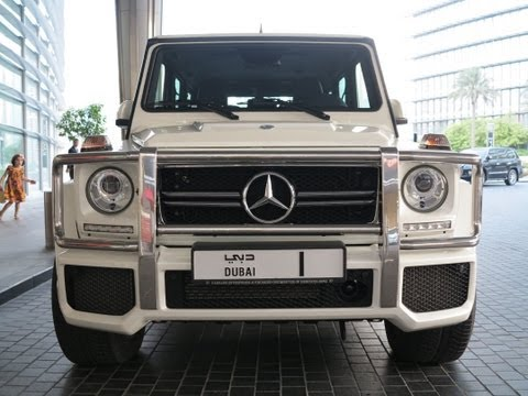G63 AMG Mercedes-Benz of Sheikh Mohammed bin Rashid Al Maktoum No. 1 (Dubai Mall)