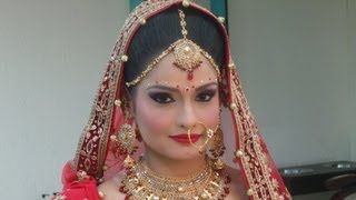 getlinkyoutube.com-Indian Bridal Makeup - Modern Look