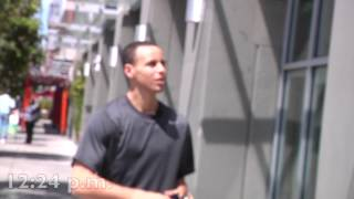 Stephen Curry Day in the Life: Bay Area