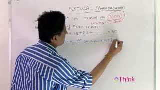 Natural No. Series (Part 3/3 Module 1 Number system)