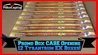 getlinkyoutube.com-Pokemon Cards - Tyrantrum EX Box CASE Opening (12 Promo Boxes)