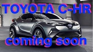 getlinkyoutube.com-新型SUV C-HR 12月発売 スペックや燃費グレードは?toyota