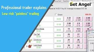 "getlinkyoutube.com-Trading on Betfair - Low risk ""painless"" trading"