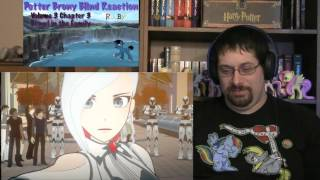 PotterBrony Blind Reaction RWBY Volume 3 Episode 3 It's Brawl in the Family