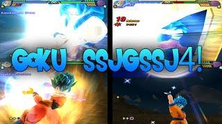 getlinkyoutube.com-Goku SSJGSSJ4! Budokai Tenkaichi 3 Mod!~TheGokussj377【HD】
