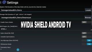 getlinkyoutube.com-Reicast Emulator Settings / Configuration   NVIDIA SHIELD Android TV (2015)   [1080p]   Dreamcast