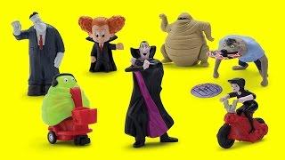 getlinkyoutube.com-2015 Hotel Transylvania 2 Movie McDonald's Happy Meal Full set of 7 toys