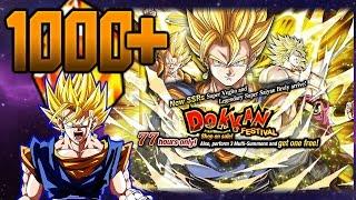 1000 DRAGON STONES?! SUPER VEGITO DOKKAN FESTIVAL SUMMONS! Dragon Ball Z Dokkan Battle