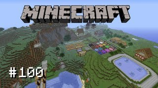 getlinkyoutube.com-Minecraft Survival - Ep. 100 - World Tour and Download